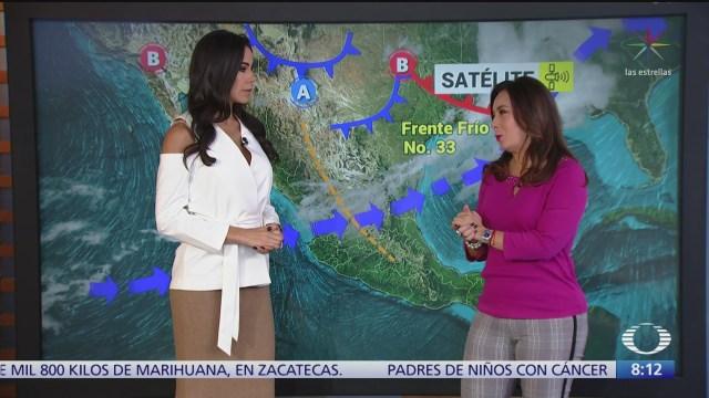 clima al aire frente frio provocara lluvias en la republica mexicana