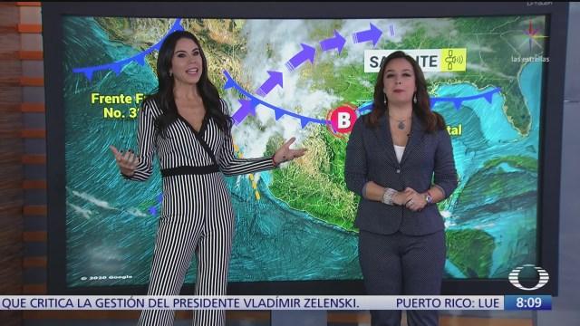 clima al aire lluvias fuertes en algunas partes de mexico