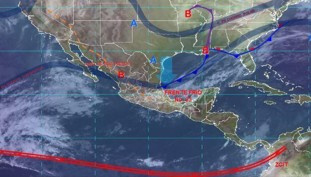 Foto: Imagen de fenómenos meteorológicos significativos de las 06:00 horas, 24 enero 2020