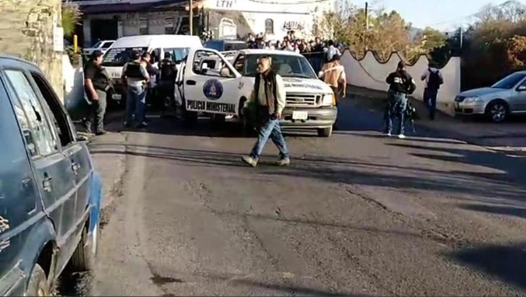 FOTO: Comando armado mata a coordinador de la Policía Ministerial de Taxco, Guerrero, el 07 de enero de 2020