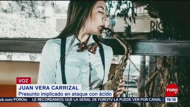 Foto: Concluye Investigación Caso Saxofonista Atacada Ácido 17 Enero 2020