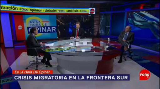 Foto: Lecciones Frontera Norte México Aplicar Sur27 Enero 2020