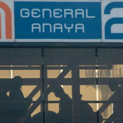metro general anaya