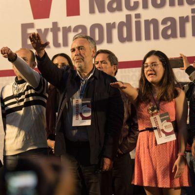 Foto: Morena destituye a Yeidckol Polevnsky; eligen a Ramírez Cuellar como nuevo líder, 26 de enero de 2020, (Cuartoscuro)