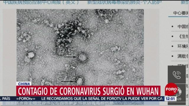 FOTO: 25 enero 2020, dan a conocer la nueva imagen del coronavirus