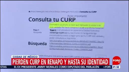 Foto: Claves Curp Mexicano Desaparecen Cientos 15 Enero 2020