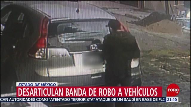 Foto: Desarticulan Banda Dedicada Robo Vehículos Ecatepec 13 Enero 2020