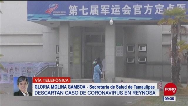 descartan coronavirus en tamaulipas continuara vigilancia epidemiologica