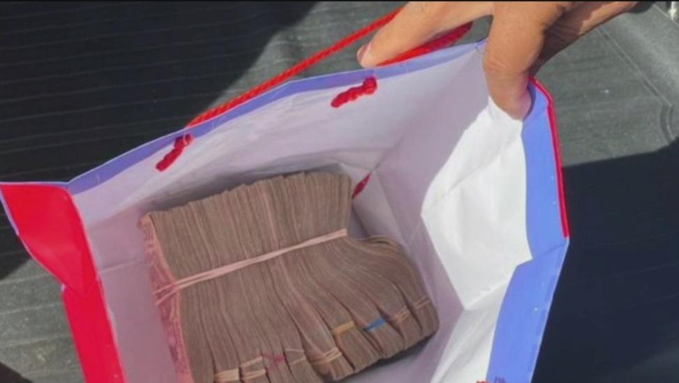 Foto Guardia Nacional incauta medio millón de pesos en el Edomex, 04 de enero de 2020, (Noticieros Televisa)