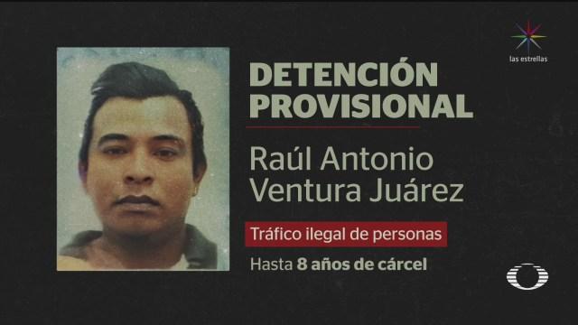 Foto: Salvadoreño Detenido Convocar Caravana Migrante 24 Enero 2020