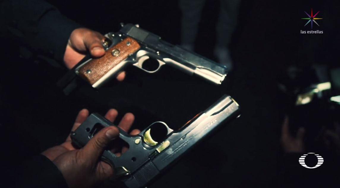 Detienen tres asaltantes de automovilistas en Periférico Sur