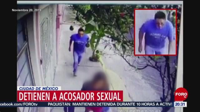 Foto: Detienen Droga Presunto Agresor Sexual Mujer Iztapalapa 20 Enero 2020