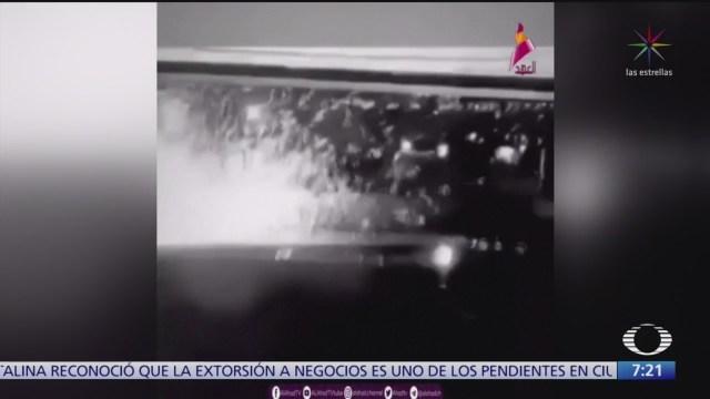 difunden video del bombardeo que mato al general qasem soleimani