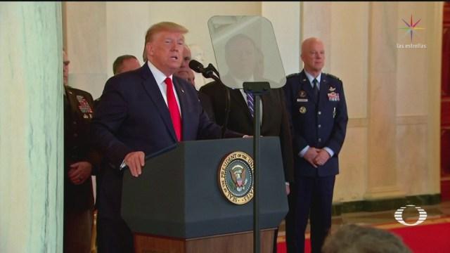 Foto: Donald Trump Realiza Conciliador Mensaje Ataque Irán 8 Enero 2020