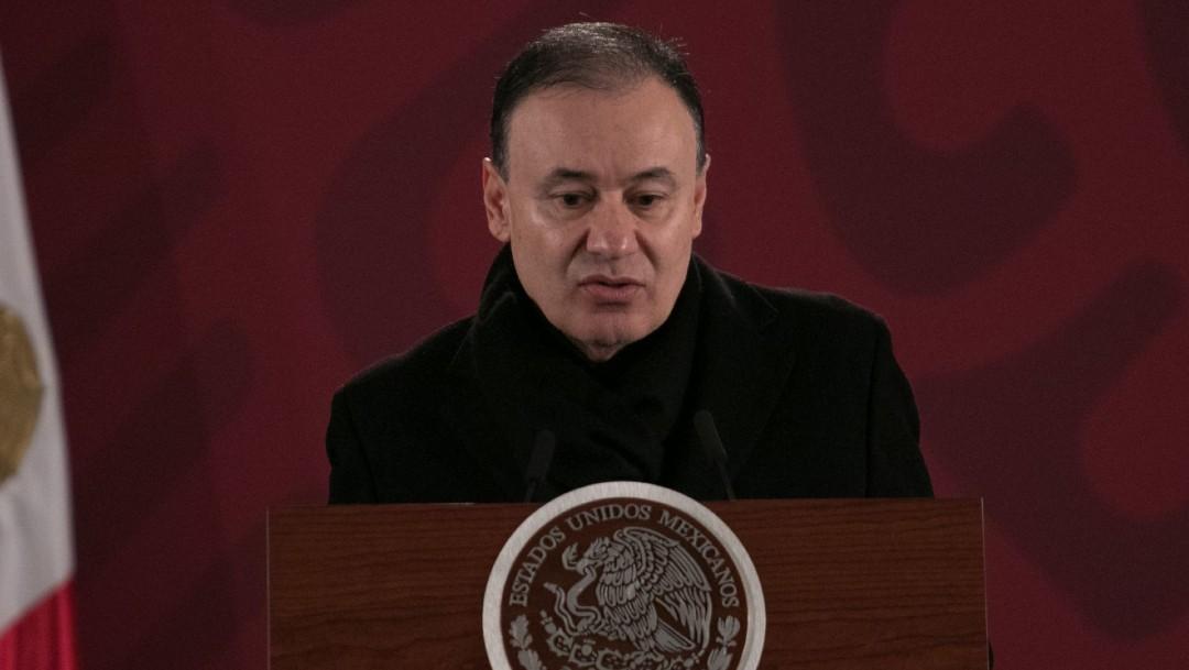 Alfonso Durazo, secretario de Seguridad Pública y Protección Ciudadana.