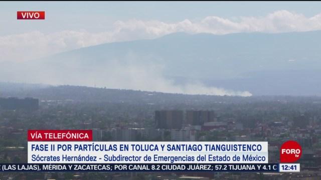FOTO: edomex exhorta a poblacion a no exponerse a mala calidad del aire