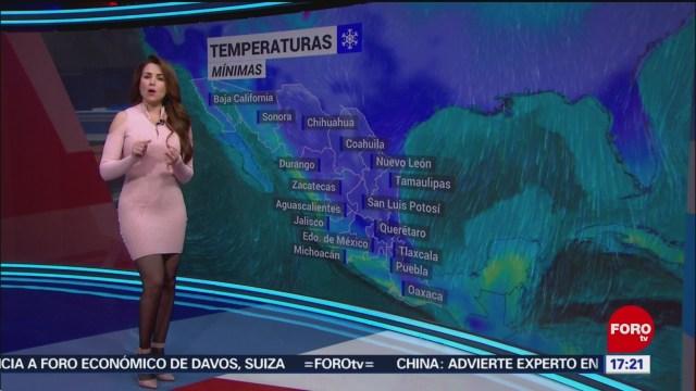 FOTO: el clima con mayte carranco del 20 de enero del