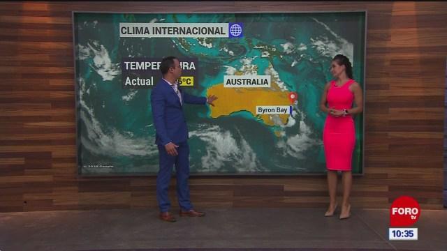 el climaenexpreso internacional del 20 de enero del