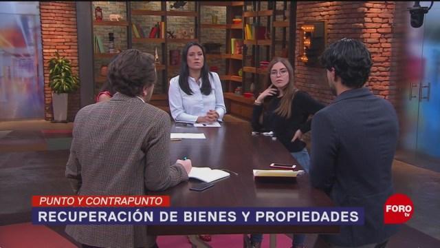 Foto: Plan México Recuperar Bienes Confiscados Estados Unidos 14 Enero 2020