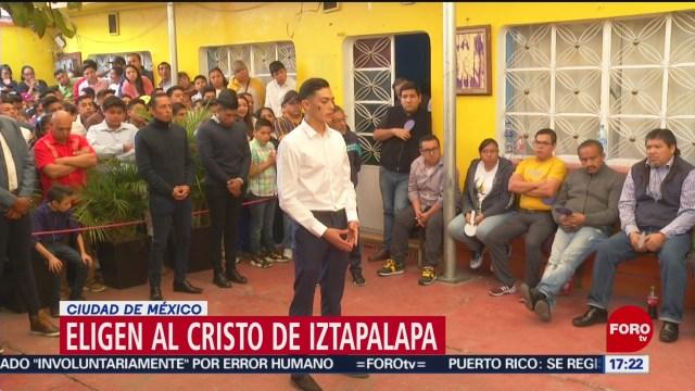 FOTO: 12 enero 2020, eligen al proximo cristo de iztapalapa