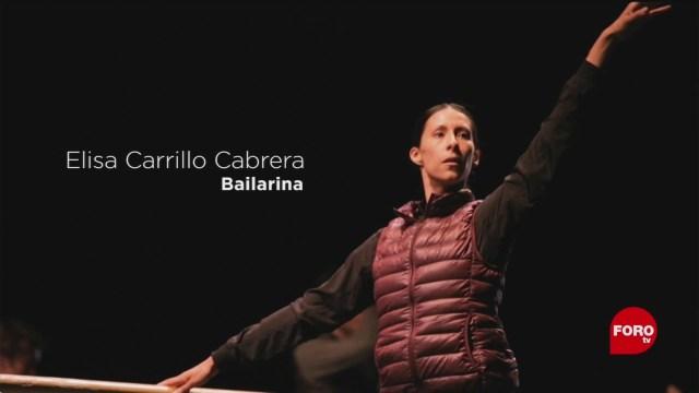 FOTO: 12 enero 2020, ella es elisa carrillo cabrera bailarina mexicana que se integro al staatsballett berlin