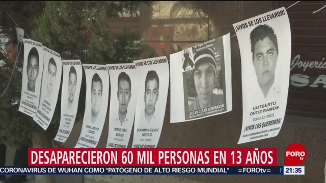 Foto: Personas Reportadas Desaparecidas Diario México 28 Enero 2020