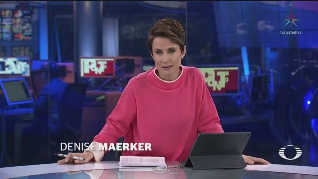Foto: En Punto Denise Maerker Televisa Programa Completo 7 Enero 2020