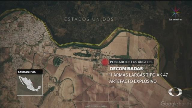 Foto: Enfrentamiento Miguel Alemán Tamaulipas 11 Muertos hOY 16 Enero 2020