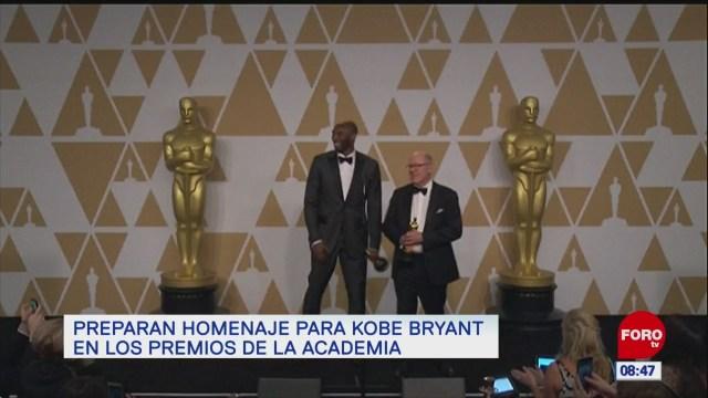 espectaculosenexpreso preparan homenaje para kobe bryant en los premios de la academia