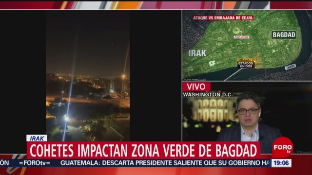 Foto: Estados Unidos Reacción Nuevo Ataque Irak 8 Enero 2020