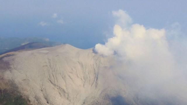Foto: El volcán Shindake, en el suroeste de Japón, hizo erupción, 11 enero 2020