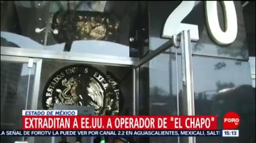 FOTO: 19 enero 2020, extraditan a estados unidos a operador financiero de el chapo