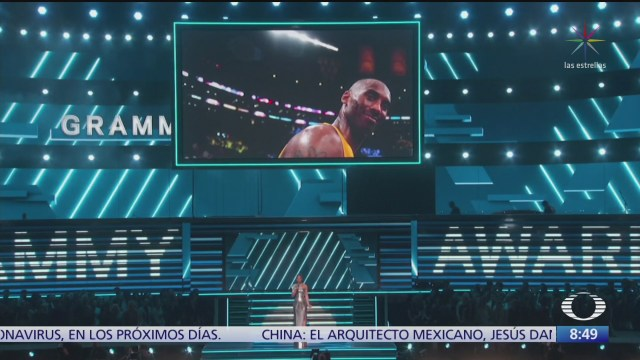 Alicia Keys despide a Kobe Bryant durante la entrega de los premios Grammy, Boyz II Men interpretó 'It's hard to say goodbye to yesterday' a capela