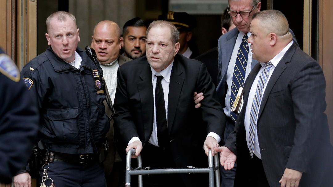 Foto: Fiscal de Los Ángeles acusa a Harvey Weinstein de violación y agresión sexual. (AP)