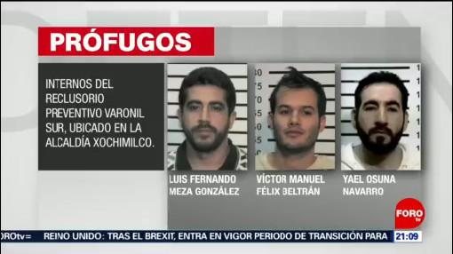 Foto: Fiscalía Cdmx Aprehensión Custodios Fuga De Reos 31 Enero 2020