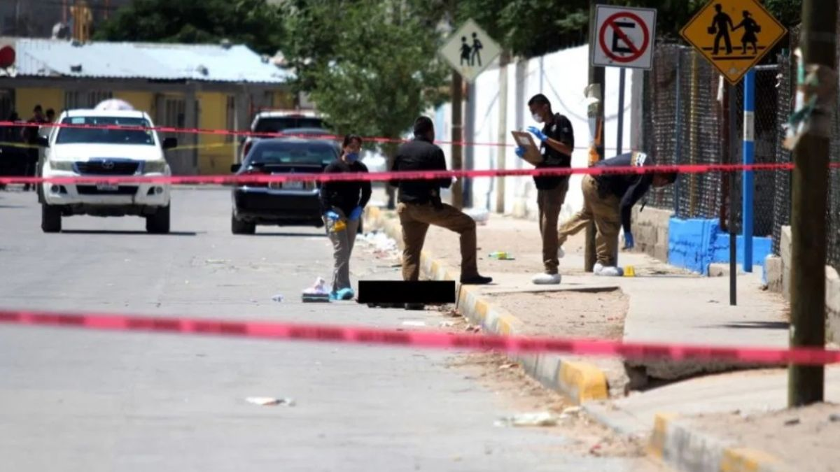 Foto: Asesina a una familia en calles de Tijuana. Cuartoscuro
