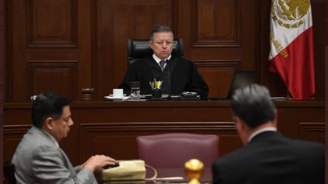 Foto: Arturo Zaldívar, ministro presidente de la SCJN.