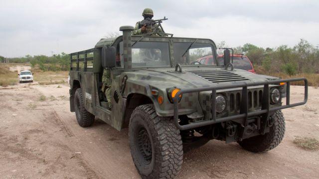 Foto: Militares vigilan calles de Reynosa, Tamaulipas. Cuartoscuro/Archivo