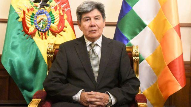 Foto: Vicanciller boliviano Gualberto Rodríguez. Efe
