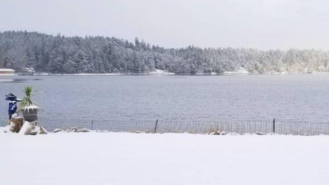 Foto: La nieve cubre la región de Saskatchewan, Canadá. Instagram