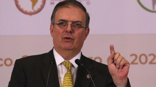Marcelo Ebrard asistirá a investidura de Giammattei