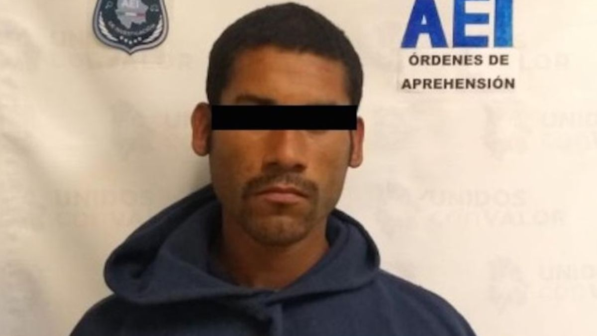 Foto: Policías detuvieron a José Guadalupe 'C'. AEI
