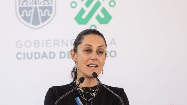 Sheinbaum pide no especular tras incendio en mercado Morelos