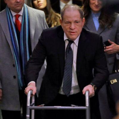 Foto: Harvey Weinstein llega a una corte de Nueva York, EEUU. AP