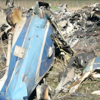 Foto: Restos del helicóptero donde murió Kobe Bryant. Reuters