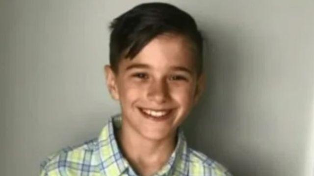 Foto: Luca Calanni, de 11 años, murió por complicaciones relacionadas con la gripe