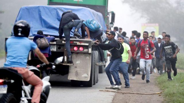 Nueva caravana de migrantes hacia EEUU