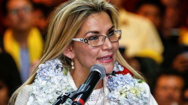 Foto: Jeanine Añez, presidenta interina de Bolivia. Reuters