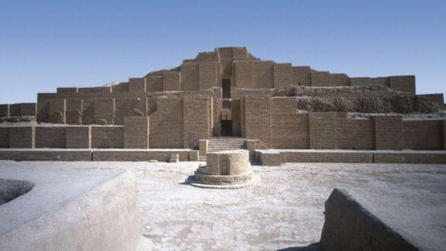 Foto: Imagen panorámica de la zona arqueológica iraní de Choga Zanbil. Getty Images