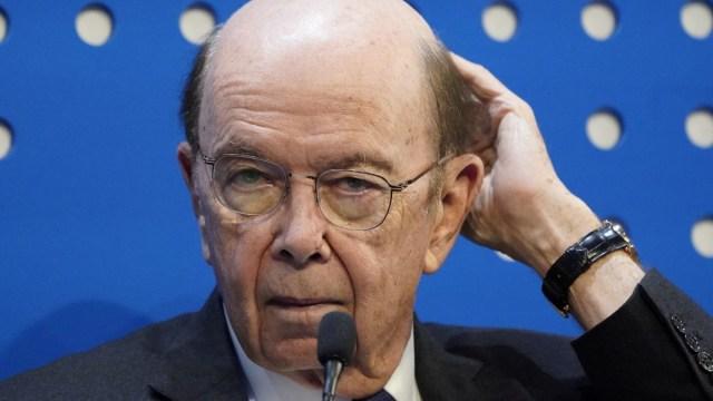 Foto: Wilbur Ross, secretario de Comercio Estados Unidos. Reuters